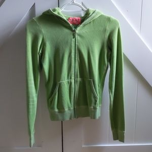 Juicy Couture Zipper Sweatshirt